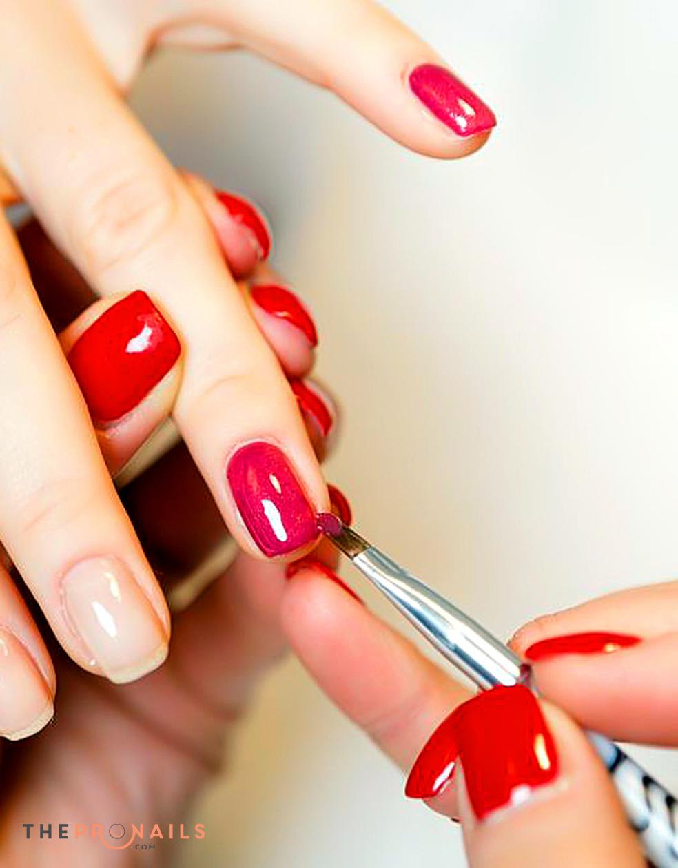 Pink & White Nails | Rebase Gel Powder
